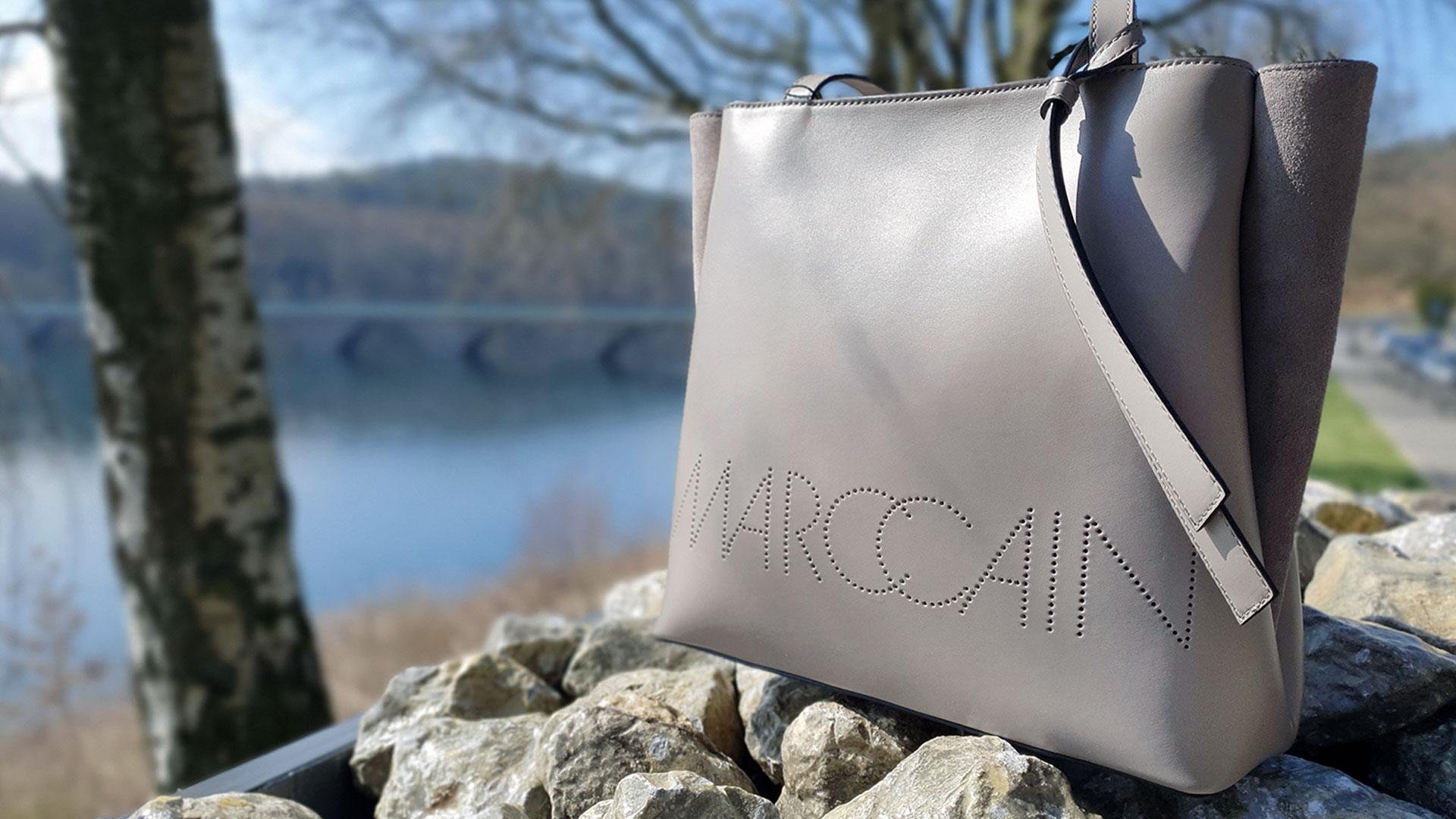 Marc Cain Handtasche in Beige